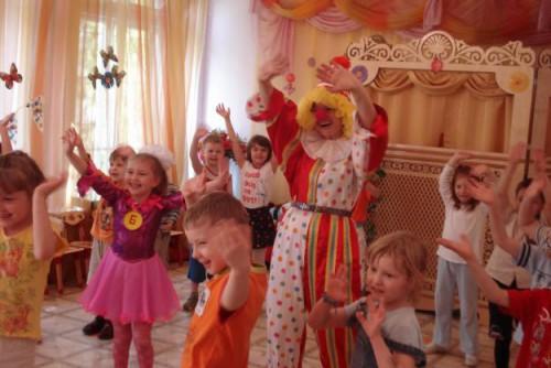 Конкурсы в детском саду на день рождения